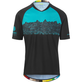 Giro Roust Maillot de cyclisme Homme, black EWS